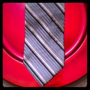 City of London-light & dark blue men's tie